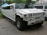 Лимузин Хаммер белый - фото 3