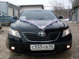 Toyota Camry черная - фото 1