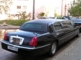 Lincoln Town Car черный - фото 1