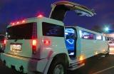 Лимузин Хаммер белый с блестками - фото 10