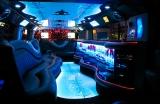 Лимузин Хаммер белый с блестками - фото 11