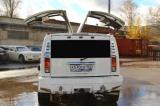 Лимузин Хаммер белый с блестками - фото 2