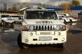 Лимузин Хаммер белый с блестками - фото 6