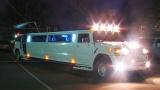 Лимузин Хаммер белый с блестками - фото 9