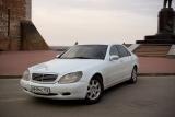 Mercedes S220 белый - фото 2