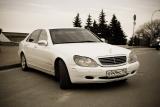 Mercedes S220 белый - фото 4