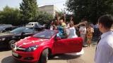 Opel Astra красная кабриолет - фото 1