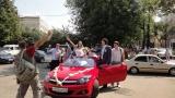 Opel Astra красная кабриолет - фото 2