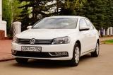 Volkswagen Passat белый - фото 1
